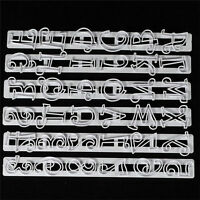 Alphabet Capital Case Letters & Numbers Tappit  Fondant Cake Cutter.US
