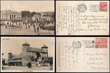 GB 1924 WEMBLEY EXHIBITION PPCs OLD LONDON BRIDGE REAL PHOTO +AUSTRALIA PAVILION