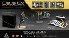 DEUS EX MANKIND DIVIDED COLLECTOR'S EDITION PS4 NEW PAL UK ENGLISH COLLECTORS