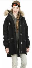 Nikita Acorn Jacket Womens lined Coat Black M