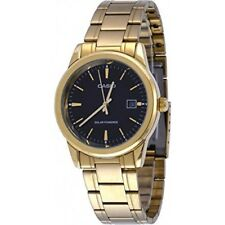 Casio MTP-VS01G-1A Men's Solar Gold Tone Stainless Steel Date Watch
