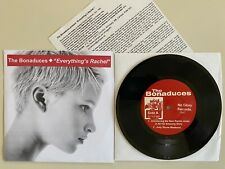 """New listing The Bonaduces Everything's Rachel 7"""" Canadian Import 1999 No Glory Records"""