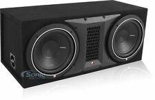 """Rockford Fosgate Punch P1 P1-2X10 1000W Dual 10"""" Loaded Subwoofer Box"""