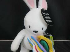 NEW KIDS PREFERRED AMAZING BABY BOOK BUDDY PLUSH BUNNY CAR SEAT ATTACHABLE CLIP