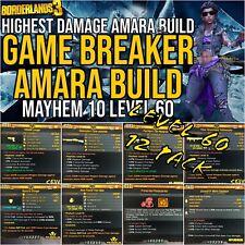 "XBOX LEVEL 60🔥""GAME BREAKER "" ""AMARA BUILD""🔥MOXSY BUILD M10 BORDERLANDS 3"