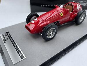 FERRARI 625 F1 race car Monaco GP 1955 M Trintignant 1:18th Tecnomodel 18-126B