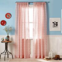 The Pioneer Woman Frontier Medallion Pole Top Curtain Panel