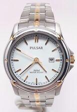 Pulsar Women's Stainless Steel Silver Watch PXT816P BROKEN SOLD AS IS!!!