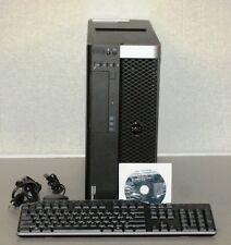 Dell Precision T5600 Xeon QC  2.4GHz E5-2609 16GB 2 x 300GB SAS RAID  Quadro 600