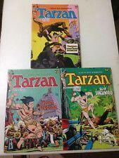 lotto 3 fumetti tarzan N° 19 - 22 - 25 ed. cenisio