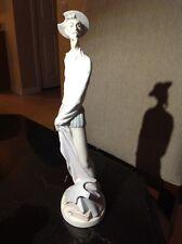 Vintage LLADRO Spain Porcelain Statue Don Quixote Standing Up #4854 1973 MATTE