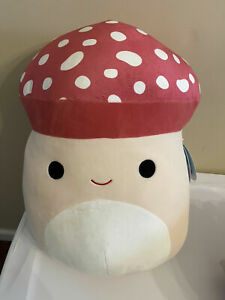 "Squishmallow Malcolm 16"" Mushroom NWT - Only 1 Left - NO RESERVE!"