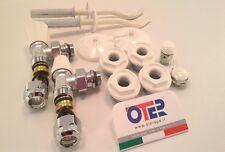 kit per radiatori alluminio completo con valvola Caleffi x multistrato Ø 16x2
