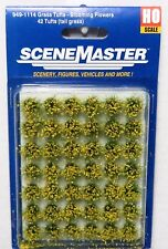 "Ho Scale Walthers SceneMaster 949-1114 Blooming Flowers 1/2"" 1.2cm Tall (42) pcs"