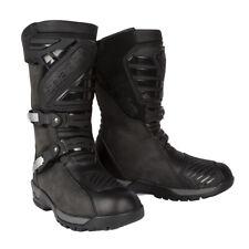 Adventure Touring Boots Waterproof Nubuck Leather Spada Motorcycle Motorbike