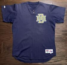 Vintage Milwaukee Brewers Majestic MLB Baseball Jersey Mens Size 44 Blue #93 Vtg