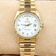 Rolex Day-Date 36 18k Yellow Gold 18038 President Bracelet