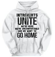 Introverts Unite Just Kidding Go Home Funny Hoodies Sweat Shirts Sweatshirts
