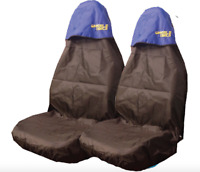 Car Seat Covers Waterproof Nylon Front Pair Protectors to fit Toyota All Models