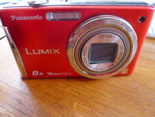 Panasonic Lumix DMC-FH27  Red - great -w charger & good battery!! 16 MEGAPIXELS!