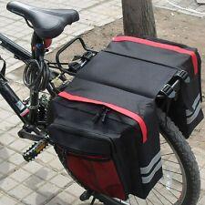 Fahrradtasche Gepäckträger Packtaschen Wasserdicht Satteltasche Doppeltasche DHL