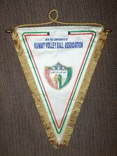 BIG SIZE 1990's KUWAIT VOLLEYBALL Federation OFFICIAL Pennant Streamer flag