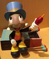 Disney Parks Pinocchio's Jiminy Cricket on Matchbox Figurine Figure - New
