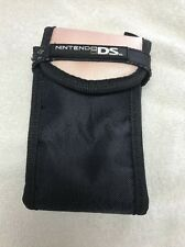 Pink and Black Nintendo DS, DSi, 3DS Carry Case Pouch with Zipper Pocket