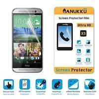 3x PELLICOLA per HTC One M8 FRONTE + PANNO PROTETTIVA DISPLAY