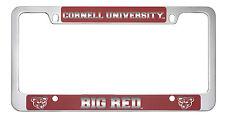 Cornell University-Metal License Plate Frame-Red
