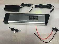 36V 10AH Folding Bike Battery/rear rack electric bike battery