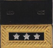 Civil War Lieut General Shoulder Boards Shoulder Straps Extra Rich Blue-FreeCoin