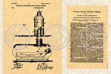 US Patent COFFIN CASKET Alarm - Funeral 1887 #311