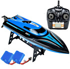 SkyCo H100 Rc Boat 2.4GHz High Speed Remote Control Boats for Kids and Adults.