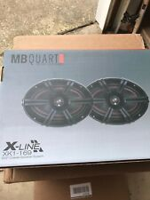 MB Quart XK1-169 X-Line 6x9 inch 2 way car audio coaxial speaker