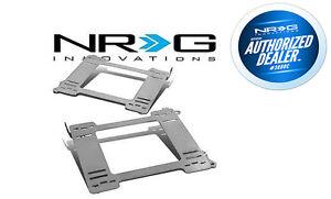 NRG STAINLESS STEEL SEAT BRACKETS L&R FOR HONDA CIVIC 92-95 EG EJ (SBK-HD01)