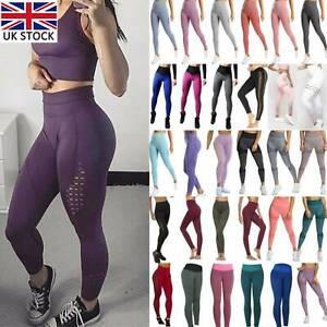 Women Gym Seamless Fitness High Waist Leggings Push Up Sport Training.Yoga Pants