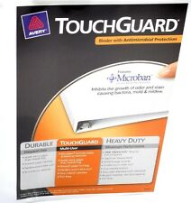 """Office 3 Lot Avery Antimicrobial 1"""" Binders Touchguard Slant D Ring 440 Sheets"""
