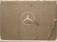 HANS LISKA MERCEDES- BENZ PORTFOLIO Sketchbook, 1951 Hardcover