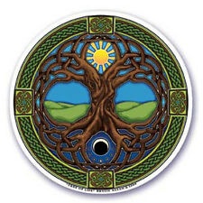 Mandala Arts Window Sticker Double Sided: Tree of Life 11.7 cm
