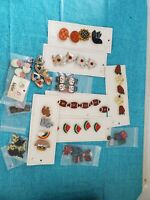 Vintage Button Covers Lot Of 52 Variety