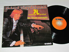 RICHARD CLAYDERMAN A Comme Amour LP 1978 Able Records Canada ABL-17034 VG+/VG