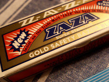 ZaZa 100 Super Stainless New Double Edge Razor Blades Wet Shaving DE SE safety