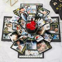 DIY Überraschung Explosion Box Kreative Hexagon Jubiläum Sammelalbum K6F2