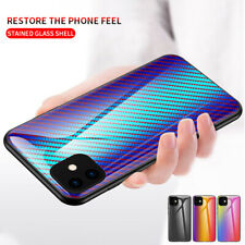 For Samsung Galaxy S20 Ultra S20 Plus Case TPU Glossy Tempered Glass Back Cover