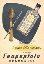 4024) MODENA, LABORATORIO FARMACEUTICO BOLOGNINI, L'EUPEPTOLO. VIAGGIATA.