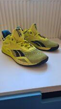 Reebok NANO x Trainers Yellow 9.5 UK 2020 Cross Training RRP £110.95