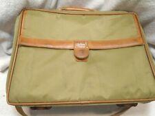 Vintage Hartmann Nylon & Leather Straps combination Overnight Attache Case