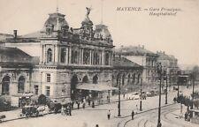 AK alt - Mayence (Mainz) - Hauptbahnhof