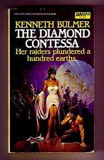 THE DIAMOND CONTESSA (Kenneth Bulmer/1st US/PBO/#8 Keys to the Dimensions)